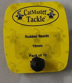 CatMaster Tackle Rubber Beads 15mm