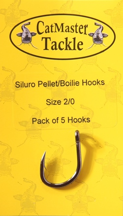 CatMaster Tackle Siluro/Waller Pellet/Boilie Hook size 2/0