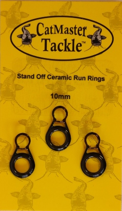CatMaster Tackle Stand off Ceramic Run Rings10mm